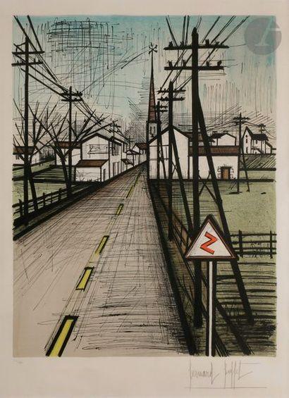 Bernard BUFFET (1928-1999) La Route, 1962...
