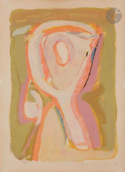 Bram van VELDE (1895-1981) Crépuscule, 1969...