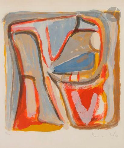 Bram van VELDE (1895-1981) Composition, 1972...