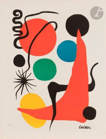 Alexander CALDER (1898-1976) Composition...