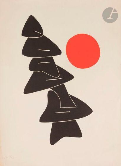 Alexander CALDER (1898-1976) Affiche pour...