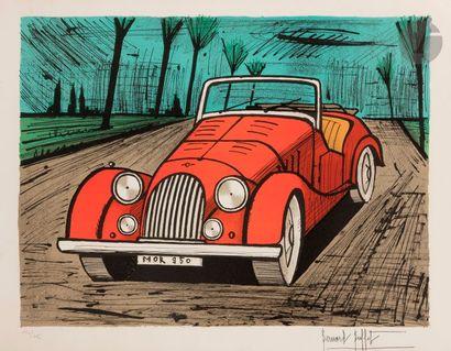 Bernard BUFFET (1928-1999) Morgan, 1985 Lithographie...