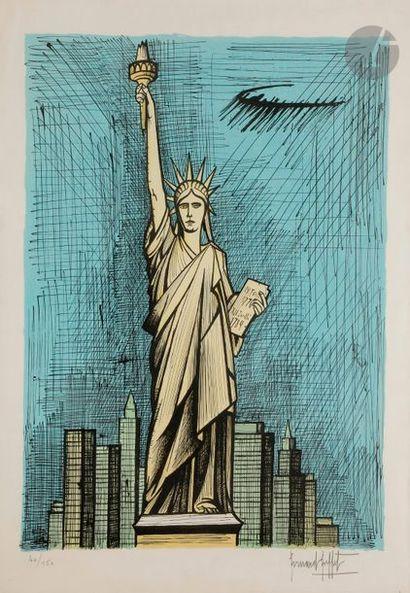 Bernard BUFFET (1928-1999) La Statue de la...