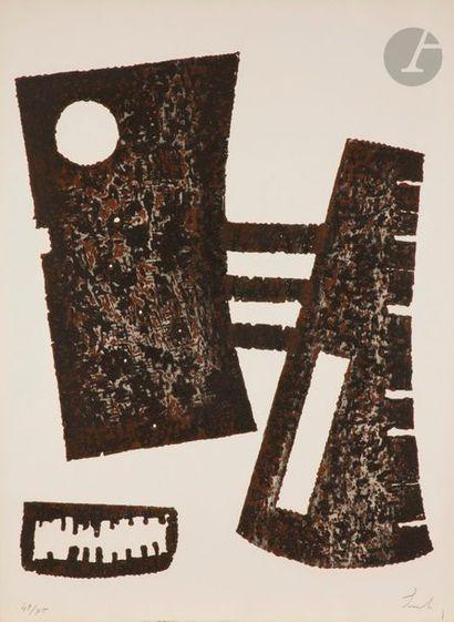 Berto LARDERA [italien] (1911-1989) Triptyque,...