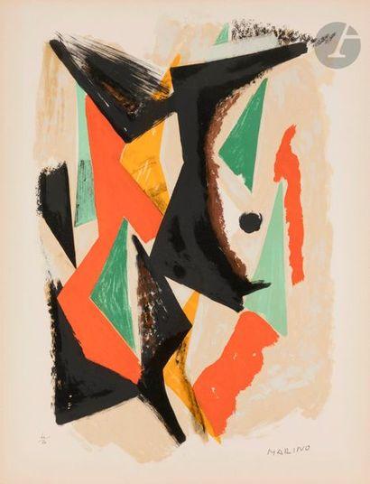 Marino MARINI [italien] (1901-1980) Composition,...