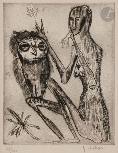 Germaine RICHIER (1902-1959) La Mante (pl....