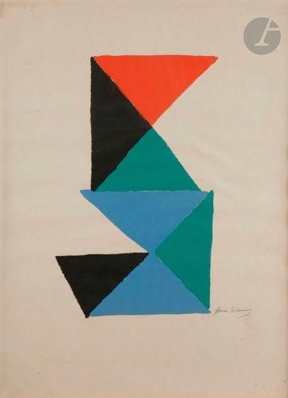 Sonia DELAUNAY-TERK (1885-1979) Composition...