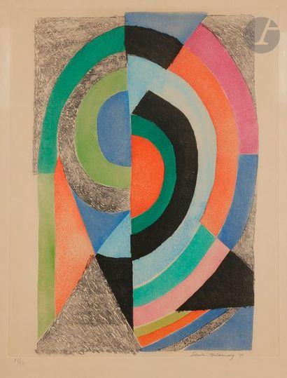Sonia DELAUNAY-TERK (1885-1979) Composition,...