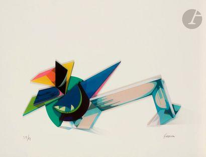 Jean-Claude FARHI (1940-2012) Composition...