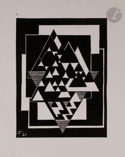Jozef PEETERS (1895-1960) XVII Linogravures...