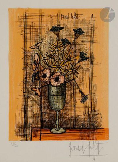 Bernard BUFFET (1928-1999) (d'après) Marguerites...