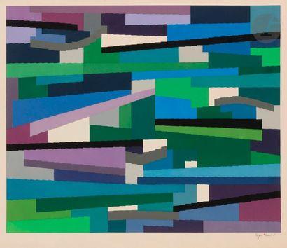 Yaacov AGAM (né en 1928) Composition Sérigraphie...