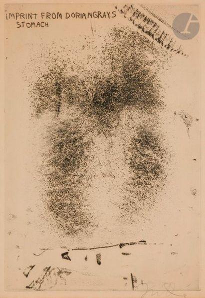 Jim DINE (né en 1935) Imprint from Dorian...