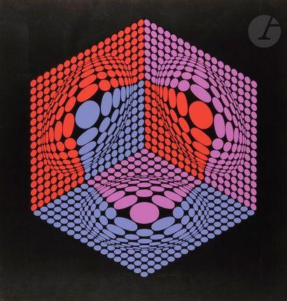 Victor VASARELY [hongrois] (1906-1997) Composition...