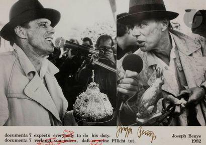 Joseph BEUYS (1921-1986) Documenta 7, 1982...