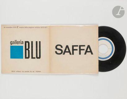 Raymond HAINS (1926-2005) Disque bleu pour...