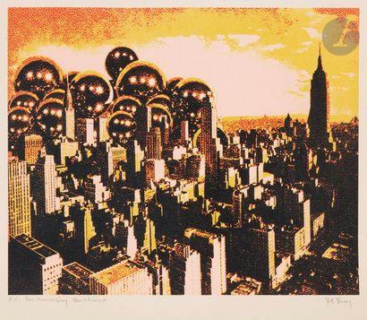 Pol BURY [belge] (1922-2005) Manhattan, vers...