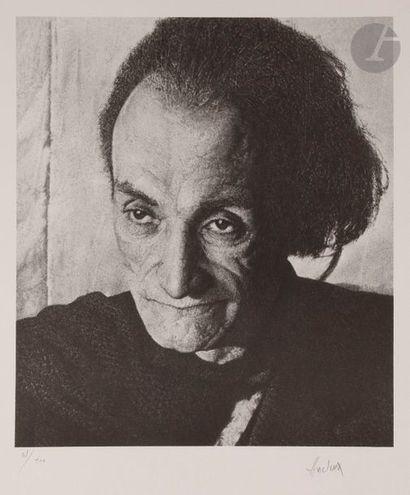 Jean-Olivier HUCLEUX (1923-2012) Portrait...