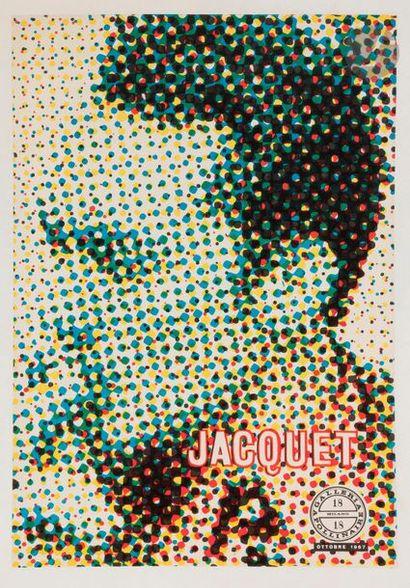 Alain JACQUET (né en 1939) Jacquet (affiche...