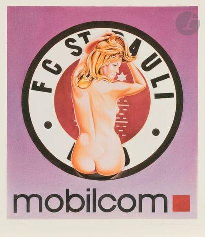 Mel RAMOS [américain] (1935-2018) Mobilcom,...