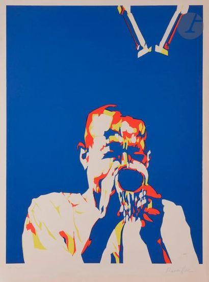 Bernard RANCILLAC (né en 1931) Le Trompettiste...