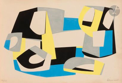 Jean HÉLION (1904-1987) Brunidor V, 1965...