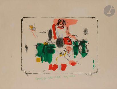 Larry RIVERS [américain] (1923-2002) Composition,...