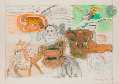 Larry RIVERS [américain] (1923-2002) Bronx...
