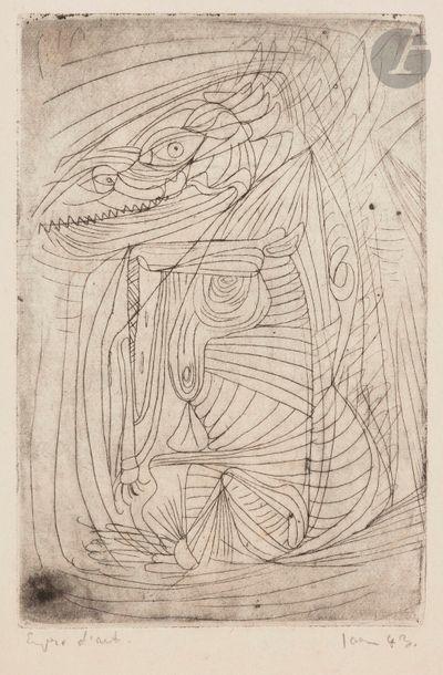 Asger JORN [danois] (1914-1973) La Pensée...