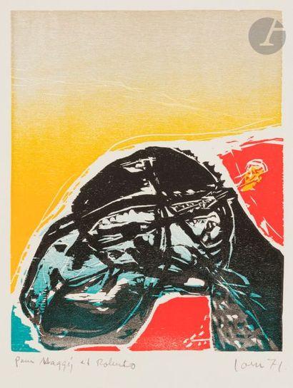 Asger JORN [danois] (1914-1973) Composition,...