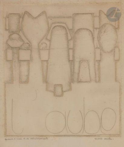 Pierre COURTIN (1921-2012) L'Aube (pl. 3...