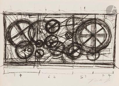 Jean TINGUELY (1925-1991) Requiem pour une...