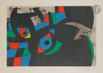 Joan MIRÓ [espagnol] (1893-1983) Le Lézard...