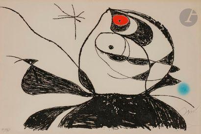 Joan MIRÓ [espagnol] (1893-1983) Composition...