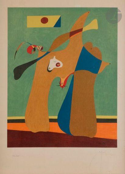 Joan MIRÓ [espagnol] (1893-1983) (d'après)...