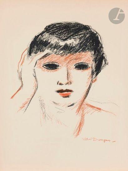 Kees Van DONGEN (1877-1968) Fernande Olivier,...