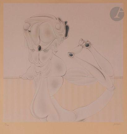 Hans BELLMER (1902-1975) Marionnette, 1973...