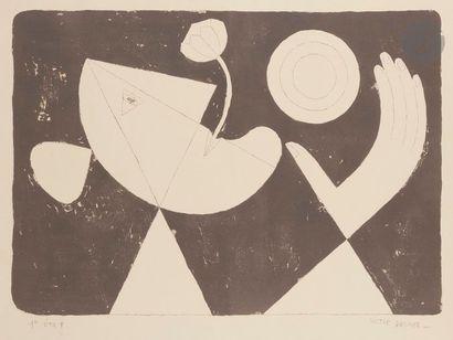 Victor BRAUNER [roumain] (1903-1966) Figure...