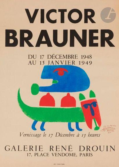 Victor BRAUNER [roumain] (1903-1966) Affiche...