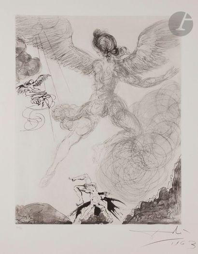 Salvador DALÍ (1904-1989) Icare («Mythologie»,...