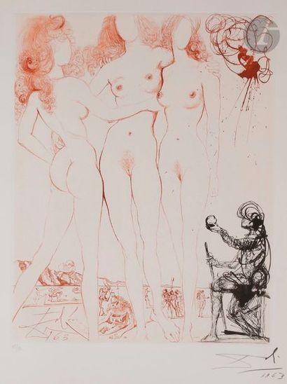 Salvador Dalí (1904-1989) Le Jugement de...