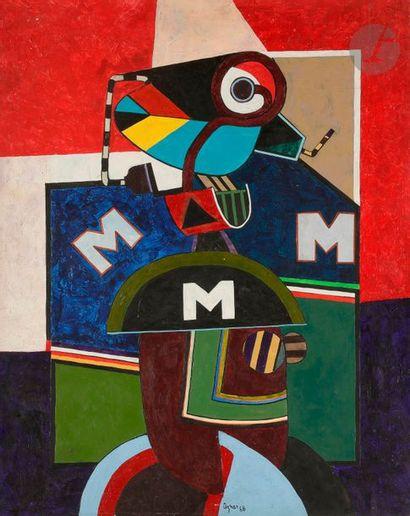 Juan Carlos AZNAR (1937-2003) Composition,...