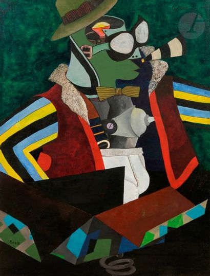 Juan Carlos AZNAR (1937-2003) Composition...