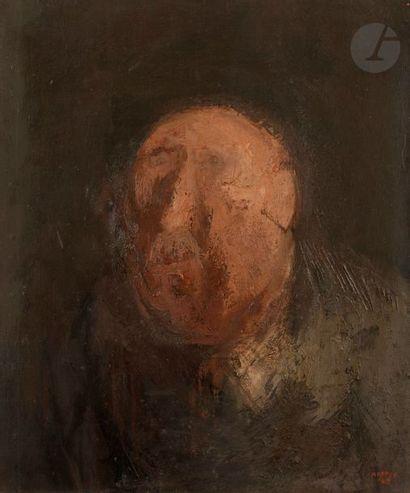 John NAPPER [anglais] (1916-2001) Visage,...