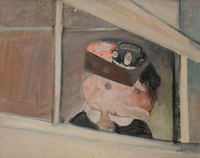 Gérard TISSERAND (1934-2010) Composition,...