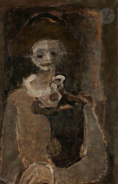 Paul RAMBIÉ (né en 1919) Arlequin, 1962 Huile...