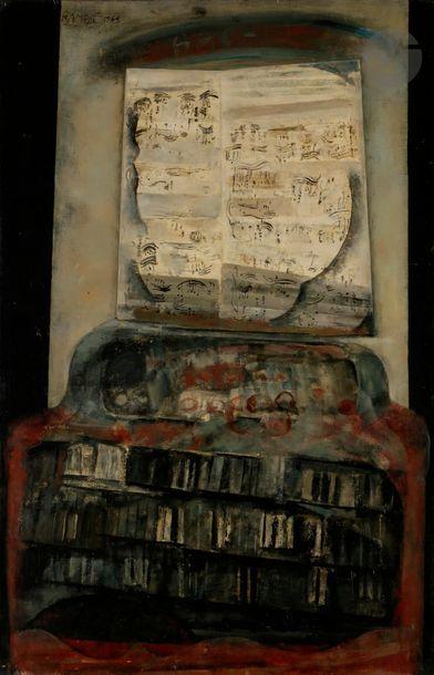 Paul RAMBIÉ (né en 1919) Composition d'orgue,...