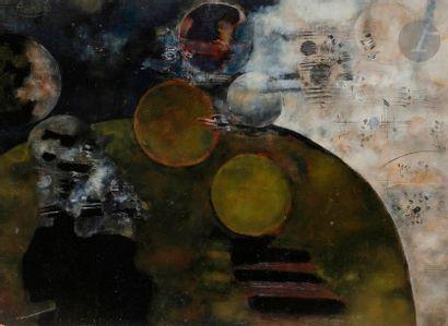 Paul RAMBIÉ (né en 1919) Cosmos n°2, 1971...