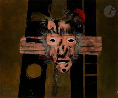Paul RAMBIÉ (né en 1919) Carnaval, 1974 Huile...