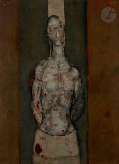 Paul RAMBIÉ (né en 1919) Martyr, 1974 Huile...